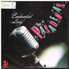 Disques de vinyle: THE PASADENAS - ENCHANTED LADY - SINGLE 1988. Lote 49598851