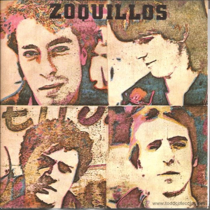 EP ZOQUILLOS : ATRAPADO EN LA TELARAÑA ( MUNSTER RECORDS ) COMPLETAMENTE NUEVO, CON ENCARTE . (Música - Discos de Vinilo - EPs - Grupos Españoles de los 70 y 80)