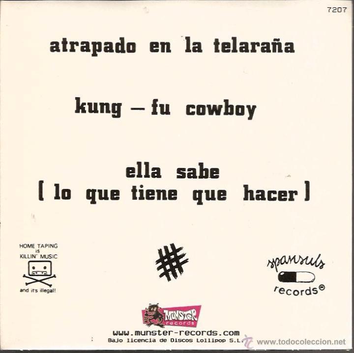 Discos de vinilo: EP ZOQUILLOS : ATRAPADO EN LA TELARAÑA ( MUNSTER RECORDS ) COMPLETAMENTE NUEVO, CON ENCARTE . - Foto 2 - 49600406