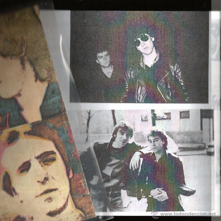 Discos de vinilo: EP ZOQUILLOS : ATRAPADO EN LA TELARAÑA ( MUNSTER RECORDS ) COMPLETAMENTE NUEVO, CON ENCARTE . - Foto 3 - 49600406