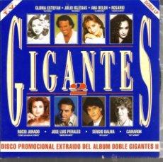 Discos de vinilo: DOBLE SINGLE GIGANTES : 1. GLORIA STEFAN 2. LOS PANCHOS 3. JOSE LUIS PERALES 4. JULIO IGLESIAS. Lote 49601925