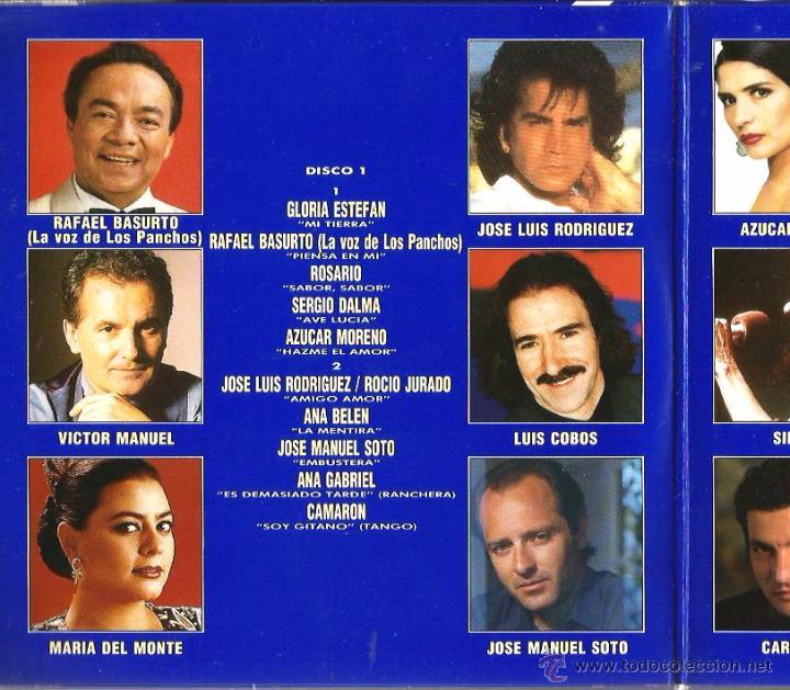 Discos de vinilo: DOBLE SINGLE GIGANTES : 1. GLORIA STEFAN 2. LOS PANCHOS 3. JOSE LUIS PERALES 4. JULIO IGLESIAS - Foto 2 - 49601925