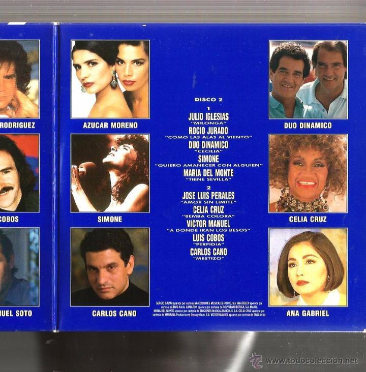 Discos de vinilo: DOBLE SINGLE GIGANTES : 1. GLORIA STEFAN 2. LOS PANCHOS 3. JOSE LUIS PERALES 4. JULIO IGLESIAS - Foto 3 - 49601925