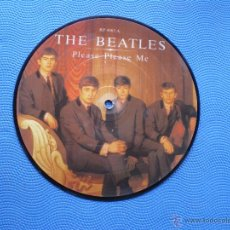 Discos de vinilo: THE BEATLES PLEASE PLEASE ME/ASK ME WHY SINGLE UK 1982. PICTURE DISC EDICION LIMITADA 20TH PDELUXE. Lote 91709423
