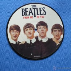 Discos de vinilo: THE BEATLES FROM ME TO YOU/THANK YOU GIRL SINGLE UK 1982. PICTURE DISC EDICION LIMITADA 20TH PDELUXE. Lote 49602355