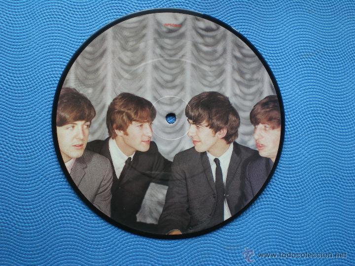 THE BEATLES I WANT TO HOLD YOUR HAND/T.BOY SINGLE UK 1982.PICTURE DISC EDICION LIMITADA 20TH PDELUXE (Música - Discos - Singles Vinilo - Pop - Rock Extranjero de los 50 y 60)