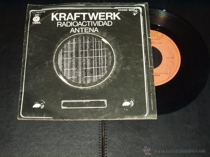 KRAFTWERK SINGLE RADIOACTIVIDAD (Música - Discos - Singles Vinilo - Electrónica, Avantgarde y Experimental)
