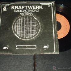 Discos de vinilo: KRAFTWERK SINGLE RADIOACTIVIDAD. Lote 49603108