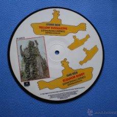 Discos de vinilo: THE BEATLES YELLOW SUBMARINE/ELEANOR RIGBY SINGLE UK 1982.PICTURE DISC EDICION LIMITADA 20TH PDELUXE. Lote 49603118