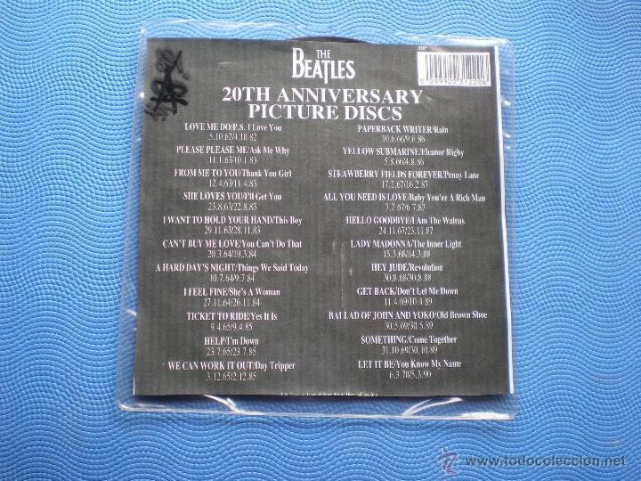 Discos de vinilo: THE BEATLES YELLOW SUBMARINE/ELEANOR RIGBY single uk 1982.PICTURE DISC EDICION LIMITADA 20TH PDELUXE - Foto 3 - 49603118
