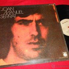 Discos de vinilo: JOAN MANUEL SERRAT LP 1974 NOVOLA PORTADA ABIERTA. Lote 49608688