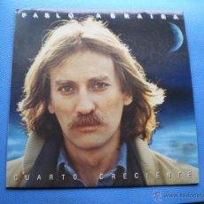Discos de vinilo: PABLO ABRAIRA CUARTO CRECIENTE LP 1983 .SE INCLUYE ENCARTE/FUNDA!!!!.CON LETRAS Y CRTOS PDELUXE. Lote 49610230