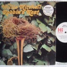 Discos de vinilo: WILLIE MITCHELL - '' ROBIN'S NEST '' LP ORIGINAL USA PROMO. Lote 34729949