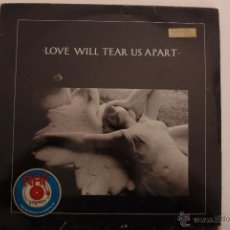 Discos de vinilo: JOY DIVISON. LOVE WILL TEAR US APART / THESE DAYS. MAXI. FACTORY RECORDS . EDICIÓN FRANCIA. AÑO 1980. Lote 74970125