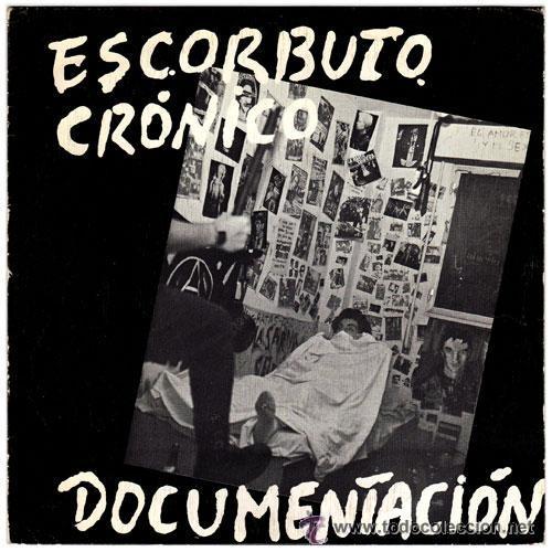 ESCORBUTO CRÓNICO, DOCUMENTACIÓN + TIESOS TALEGOS, ORIGIINAL JAJA RECORDS 003 (Música - Discos - Singles Vinilo - Punk - Hard Core)