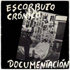 Discos de vinilo: ESCORBUTO CRÓNICO, DOCUMENTACIÓN + TIESOS TALEGOS, ORIGIINAL JAJA RECORDS 003. Lote 49614380