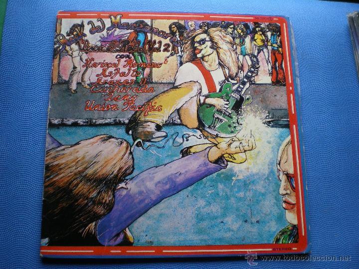 MARISCAL ROMERO & OTROS ROCK DEL MANZANARES. LP 78 ASFALTO LEÑO CUCHARADA UNION PACIFIC ...PDELUXE (Música - Discos - LP Vinilo - Grupos Españoles de los 70 y 80)