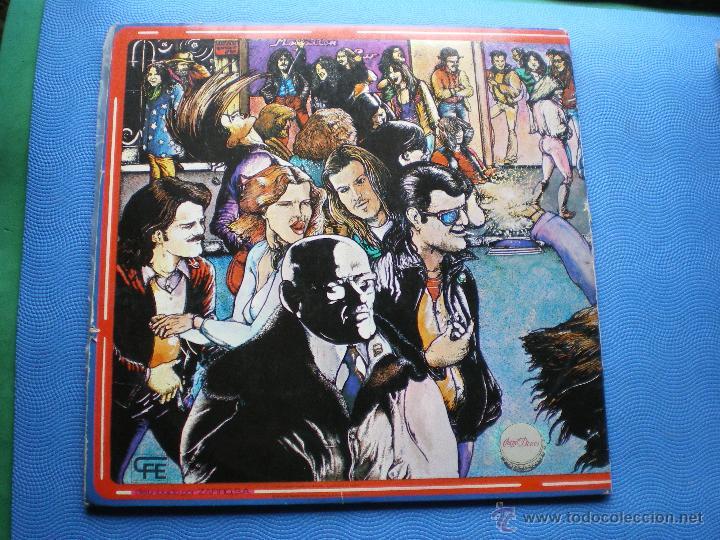 Discos de vinilo: MARISCAL ROMERO & OTROS ROCK DEL MANZANARES. LP 78 ASFALTO LEÑO CUCHARADA UNION PACIFIC ...PDELUXE - Foto 2 - 49614583