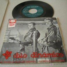 Discos de vinilo: DUO DINAMICO SINGLE 45 RPM EN CATALAN AI AQUELLS ULLS TAN NEGRES LA VOZ DE SU AMO ESPAÑA 1965. Lote 49616298
