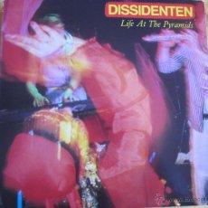 Dischi in vinile: LP - DISSIDENTEN - LIFE AT THE PYRAMIDS (ITALY, MATERIALI SONORI 1986). Lote 49616424