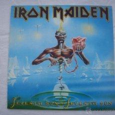 Discos de vinilo: IRON MAIDEN - SEVENTH SON OF A SEVENTH SON - LP - REEDICION - NUEVO. Lote 49618505