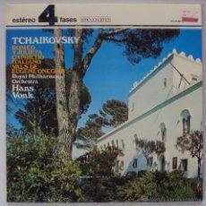 Discos de vinilo: TCHAIKOVSKY: ROMEO Y JULIETA, CAPRICHO ITALIANO, VALS EUGENE ONEGUIN.DECCA 1981 SIN ESCUCHAR. Lote 49619519