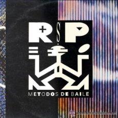 Discos de vinilo: R.S.P. - METODOS DE BAILE - LP CBS SPAIN 1990 - CONTIENE HOJAS PROMO. Lote 49620332