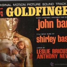 Discos de vinilo: LP GOLDFINGER ( JOHN BARRY ) PRIMERA EDICION USA, 1964, MONOAURAL 6 HIGH FIDELITY . Lote 49624431