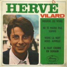 Discos de vinilo: HERVE VILARD EP SELLO MERCURY . Lote 49625505