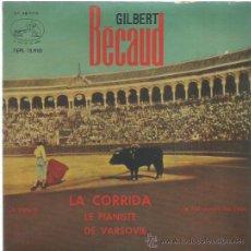 Discos de vinilo: GILBERT BECAUD EP SELLO LA VOZ DE SU AMO AÑO 1963. Lote 49625555