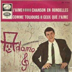 Discos de vinilo: ADAMO EP SELLO LA VOZ DE SU AMO AÑO 1965. Lote 49625654