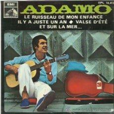 Discos de vinilo: ADAMO EP SELLO LA VOZ DE SU AMO AÑO 1968. Lote 49625666