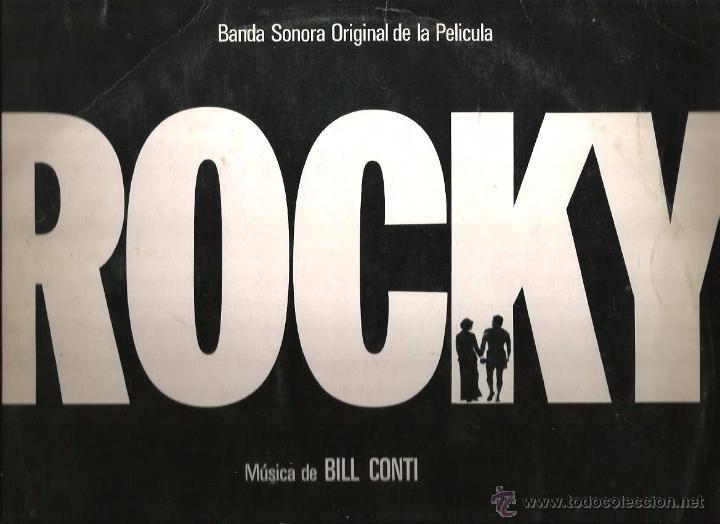 LP ROCKY - MUSICA DE BILL CONTI ( RARA EDICION ORLADOR DE 1977) (Música - Discos - LP Vinilo - Bandas Sonoras y Música de Actores )