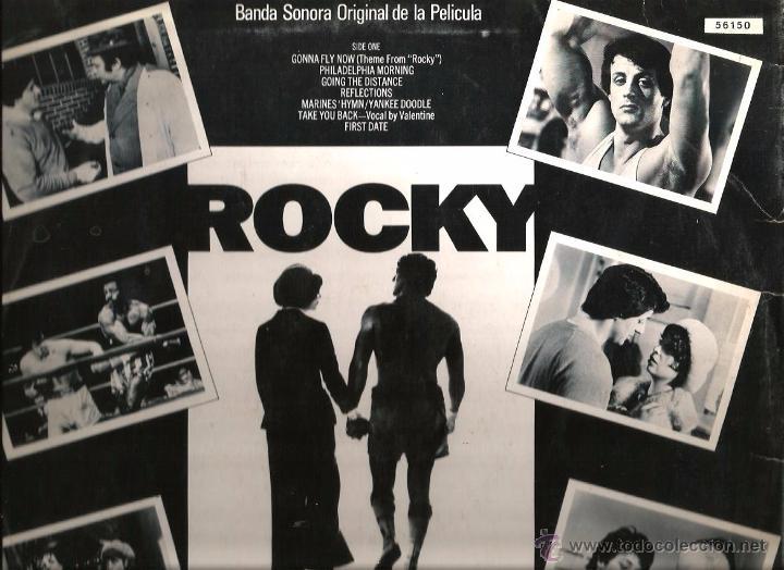 Discos de vinilo: LP ROCKY - MUSICA DE BILL CONTI ( RARA EDICION ORLADOR DE 1977) - Foto 2 - 49625941