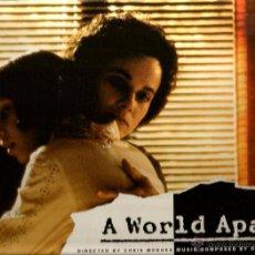 Discos de vinilo: LP A WORLD APART ( UN MUNDO APARTE ) MUSICA DE HANS ZIMMER . Lote 49626008