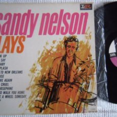 Discos de vinilo: SANDY NELSON - '' SANDY NELSON PLAYS '' LP ORIGINAL USA. Lote 49626603