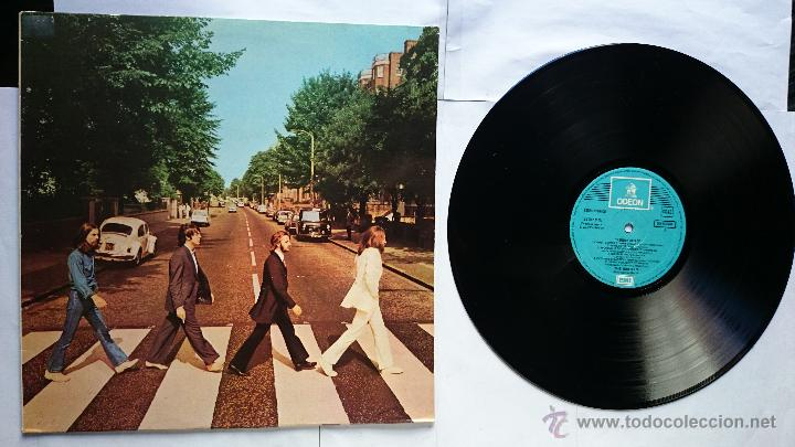 THE BEATLES - ABBEY ROAD (1969) (2ª EDICION) (Música - Discos - LP Vinilo - Pop - Rock Extranjero de los 50 y 60)