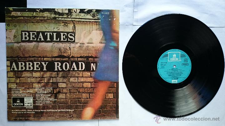 Discos de vinilo: THE BEATLES - ABBEY ROAD (1969) (2ª EDICION) - Foto 2 - 49628007