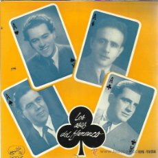 Discos de vinilo: LOS ASES DEL FLAMENCO Nº5 EP ODEON 1958 CANALEJAS/ NIÑO DE MARCHENA/ MANUEL VALLEJO/ COJO DE HUELVA. Lote 49633766