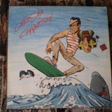 Discos de vinilo: LP. OVERSEA CONNECTION.VINILO ROJO. AÑO 1987. Lote 49635158