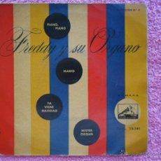 Discos de vinilo: FREDDY Y SU ORGANO 1959 LA VOZ DE SU AMO 13141 PIANO PÌANO SELECCION 3. Lote 49636453