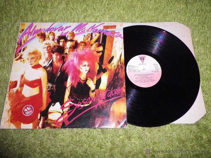 ALMODOVAR & MCNAMARA SUSAN GET DOWN / SAFARI MAXI SINGLE VINILO PROMO ALASKA BONEZZI MOVIDA (Música - Discos de Vinilo - Maxi Singles - Grupos Españoles de los 70 y 80)