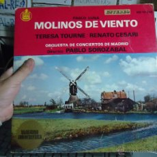Discos de vinilo: REFERENCIA DISCOS CAJA 123 - DISCO GRANDE - MOLINOS DE VIENTO, PABLO LUNA. Lote 49641311