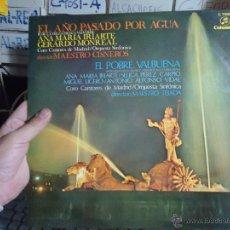 Discos de vinilo: REFERENCIA DISCOS CAJA 123 - ANA MARIA IRIARTE GERARDO MONREAL , EL AÑO PASADO POR AGUA. Lote 49641395