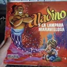 Discos de vinilo: REFERENCIA DISCOS CAJA 123 - DISCO MEDIANO - ALADINO Y LA LAMPARA MARAVILLOSA. Lote 49641477