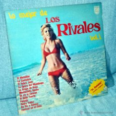 Discos de vinilo: LOS RIVALES - LO MEJOR DE... - LP VINILO 12'' - 12 TRACKS - EDITADO EN COLOMBIA - PHILIPS - AÑO 1977. Lote 49641813
