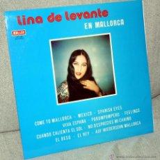 Discos de vinilo: LINA DE LEVANTE - LP VINILO 12'' AUTOGRAFIADO - EDITADO EN ESPAÑA - 12 TRACKS - MALLER 1978. Lote 49641932