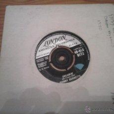 Discos de vinilo: JOHNNY BURNETTE DREAMI´N SINGLE. Lote 49642022