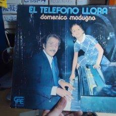 Discos de vinilo: REFERENCIA DISCOS CAJA 123 - DISCO GRANDE - EL TELEFONO LLORA. Lote 49642124