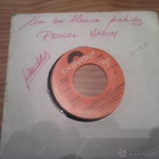 Discos de vinilo: PROCOL HARUM PROMO SINGLE. Lote 49642139